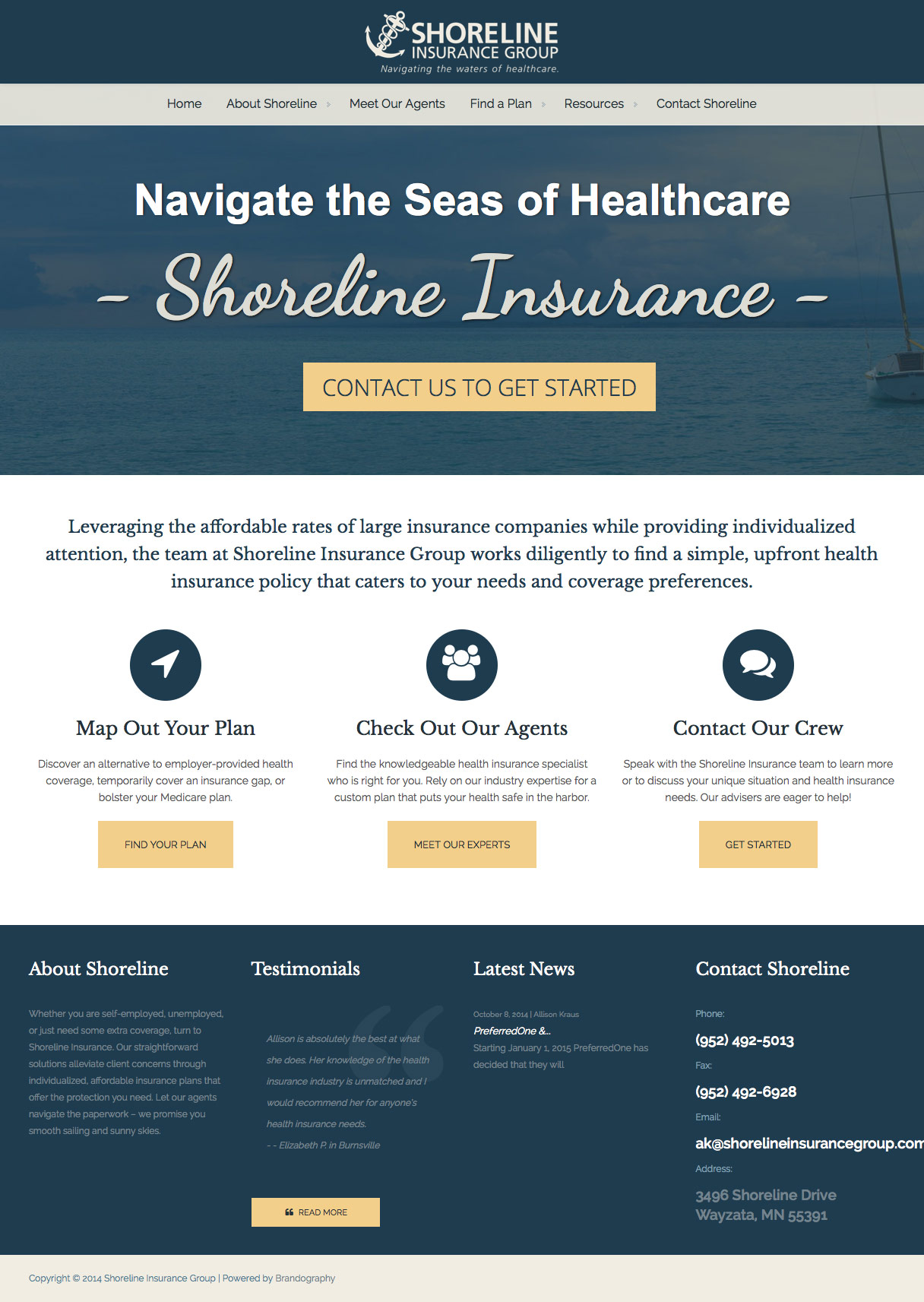 Shoreline Insurance Group Site